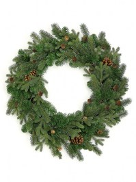 Aldik Home's Wonderful Wreaths & Garlands - Mixed Spruce Wreath