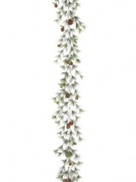 Aldik Home's Festive Christmas Decor - Smoky Mountain Garland