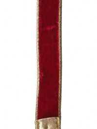 Aldik Home's Luxurious Ribbon - Vintage Red Velvet
