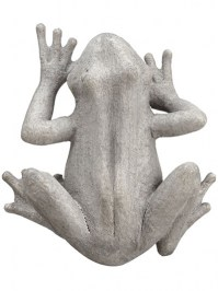 Aldik Home's Lovely Silk Wedding Accessories - Frog Wall Decor