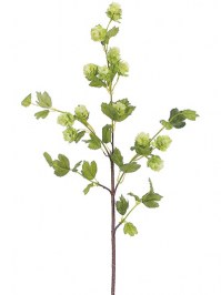 Aldik Home's Realistic Silk Flowers - Hop Stem
