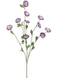 Aldik Home's Realistic Silk Flowers - Morning Glory