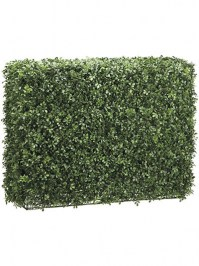 Aldik Home's Incredibly Realistic Silk Plants - Boxwood Hedge Mixed Large