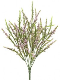 Aldik Home's Realistic Silk Flowers - Heather Bush
