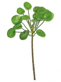 Aldik Home's Realistic Silk Plants - Money Plant