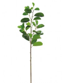 Aldik Home's Realistic Silk Plants - Paddle Ficus Leaf Stem
