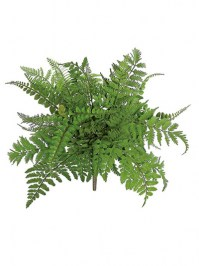 Aldik Home's Realistic Silk Plants - Mixed Fern Bush
