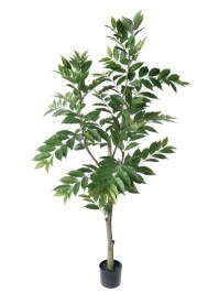 Aldik Home's Incredibly Realistic Silk Plants - Nandina Tree Full