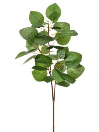 Aldik Home's Incredibly Realistic Silk Plants - Smoke Leaf