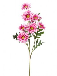 Aldik Home's Realistic Silk Flowers - Daisy Stem