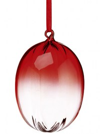 Aldik Home's Festive Christmas Ornament - Glass Egg