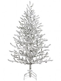 Aldik Home's Premium Artificial Christmas Trees - Alpine Tree Snowed