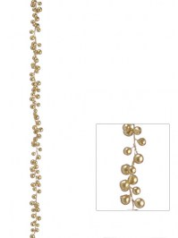 Aldik Home's Festive Christmas Decor - Gold Berry Garland