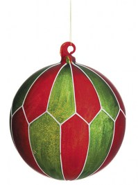 Aldik Home's Eclectic Christmas Ornaments - Glass Ball