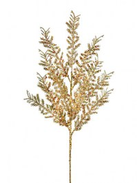 Aldik Home's Festive Christmas Stems - Glitter Cedar Spray
