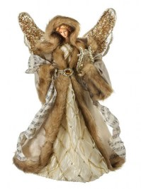 Aldik Home's Festive Christmas Decor - Angel w/ Harp