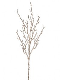 Aldik Home's Festive Christmas Stems - Glitter Sequin Branch