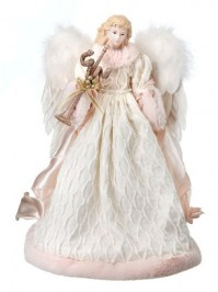 Aldik Home's Festive Christmas Decor - Angel w/ Trumpet