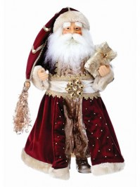 Aldik Home's Festive Christmas Decor - Vintage Santa