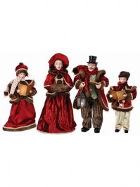 Aldik Home's Festive Christmas Decor - Caroler Family