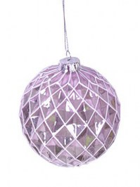Aldik Home's Festive Christmas Ornament - Glass Ball