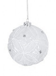 Aldik Home's Festive Christmas Ornament - Ball Ornament
