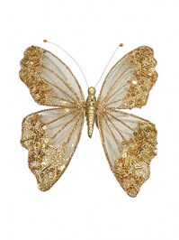 Aldik Home's Festive Christmas Ornament - Butterfly Ornament