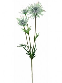 Aldik Home's Realistic Silk Flowers - Mum Stem