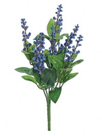Aldik Home's Realistic Silk Flowers - Berry Bush