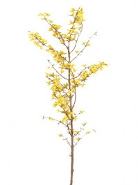 Aldik Home's Realistic Silk Flowers - Forsythia