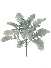 Aldik Home's Realistic Silk Plants - Dusty Miller