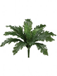 Aldik Home's Realistic Silk Plants - Ruffle Fern Bush
