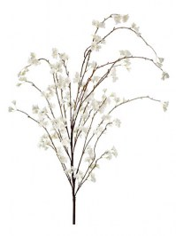 Aldik Home's Realistic Silk Flowers - Weeping Cherry Blossom