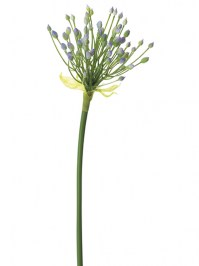 Incredibly realistic silk flowers shop online aldik home agapanthus pod 28 in lavender green stock 61612 1400 aldik homes realistic silk flowers mightylinksfo