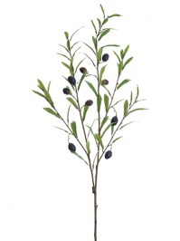Aldik Home's Incredibly Realistic Silk Plants - Olive Stem