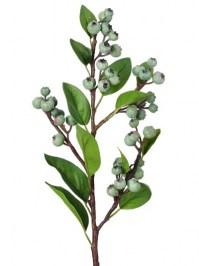 Aldik Home's Incredibly Realistic Silk Plants - Parisian Blueberry