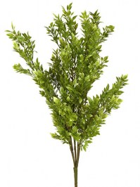 Aldik Home's Realistic Silk Plants - Tea Leaf Bush