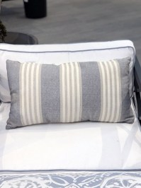 Aldik Home's Luxurious Outdoor Throw Pillows - Bradford Stripe