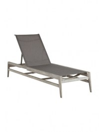 Aldik Home's Summer Classics Patio Furniture Floor Samples - Coast Chaise Lounge