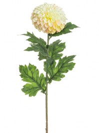 Aldik Home's Realistic Silk Flowers - Dahlia Spray