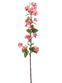 Aldik Home's Realistic Silk Flowers - Apple Blossom