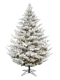 Aldik Home's Premium Artificial Christmas Trees - Snowy Imperial Balsam