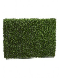 Aldik Home's Realistic Silk Plants - Boxwood Hedge Large