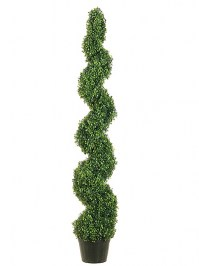 Aldik Home's Realistic Silk Plants - Boxwood Topiary