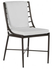Aldik Home's Summer Classics Patio Furniture Floor Samples - Carmel Side Chair (Set of 2)