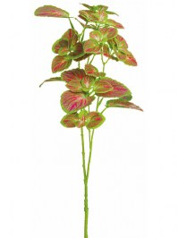 Aldik Home's Realistic Silk Plants - Mint Leaf