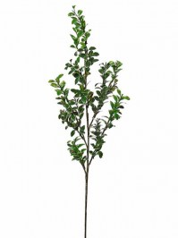Aldik Home's Realistic Silk Plants - Button Leaf Stem