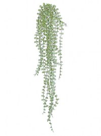 Aldik Home's Realistic Silk Plants - Button Fern Ivy
