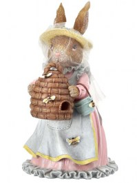 Aldik Home's Lovely Easter Decor - Bunny w/ Beehive