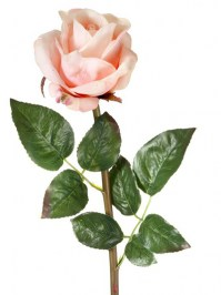 Aldik Home's Realistic Silk Flowers - Soft Touch Garden Rose
